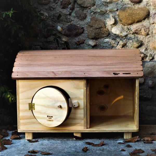 Bungalow - Casa in legno per Gatti o Piccoli Animali - Blitzen