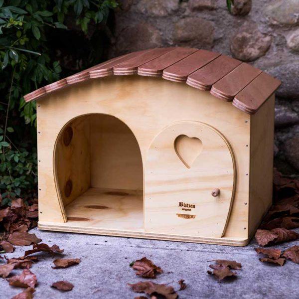 GINA - Niche en Bois pour chats et petits animaux - Blitzen