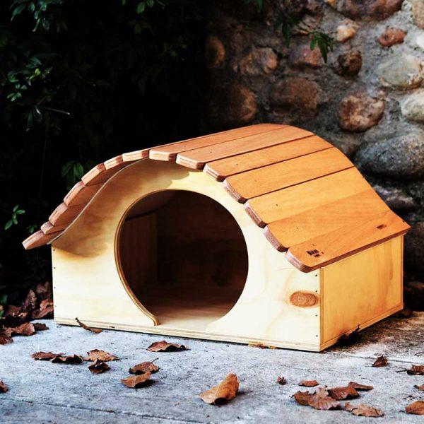 Samurai - Casa in legno per Gatti - Blitzen