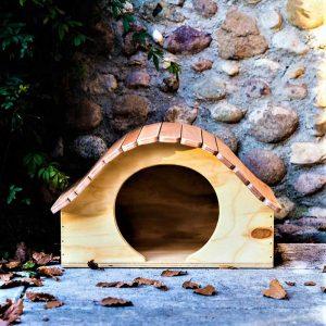 SAMURAI - Niche en Bois pour chats et petits animaux - Blitzen