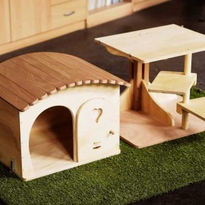 Robinson - Tree House for Cats in Wood - Blitzen