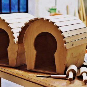 VOYEUR - Casa Rifugio in Legno per Gatti o Piccoli Animali - Blitzen Original