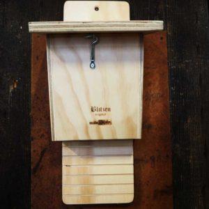 BAT BOX - Inspectable wooden house for bats - Blitzen