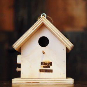 NICHOIR - Abri en bois pour oiseaux sauvages - Blitzen