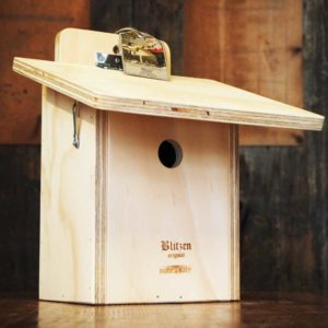 BIRDHOUSE FOR GREAT TITS - Wooden shelter for great tits - Blitzen
