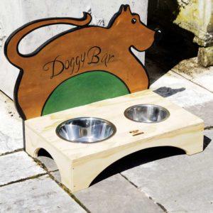 DOGGY BAR - Porte-bol pour chiens - Blitzen Original