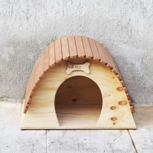 DOG ECLIPSE - Maison en bois pour chiens - Blitzen Original