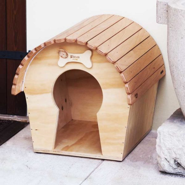 DOG VOYEUR - Casa Rifugio in Legno per Cani - Blitzen Original