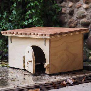 Tortuga - Casa per Tartarughe di Terra in legno - Blitzen