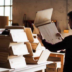 BAT BOX RADAR - Casa Rifugio ispezionabile in Legno per Pipistrelli - Blitzen