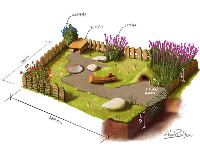 Progetto Blitzen per un Habitat ideale per Tartarughe di Terra