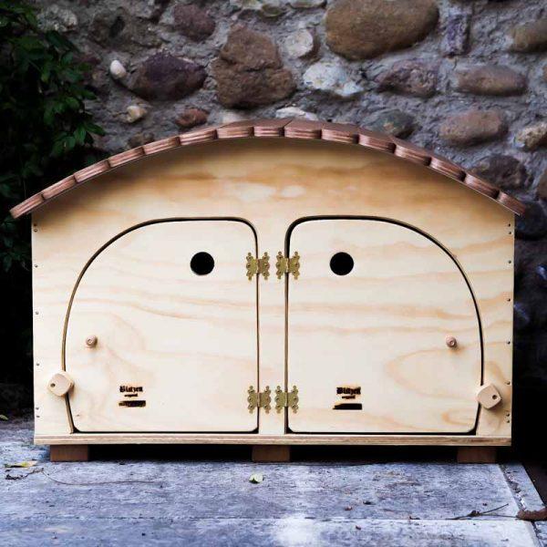 HOTEL - Niche en Bois pour 2/3 chats et petits animaux - Blitzen