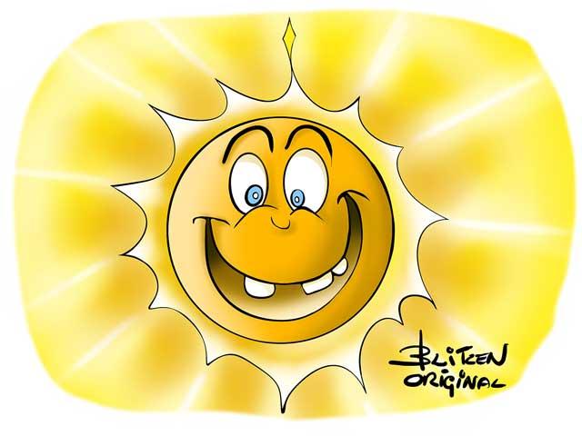 Disegno di un Sole - Blitzen