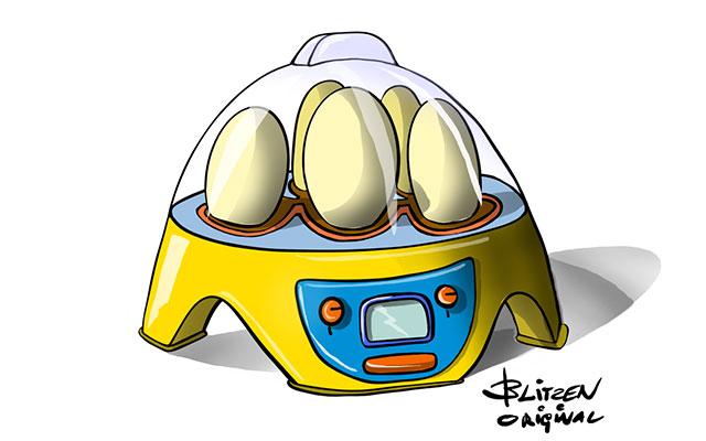 Disegno Blitzen di una incubatrice di uova
