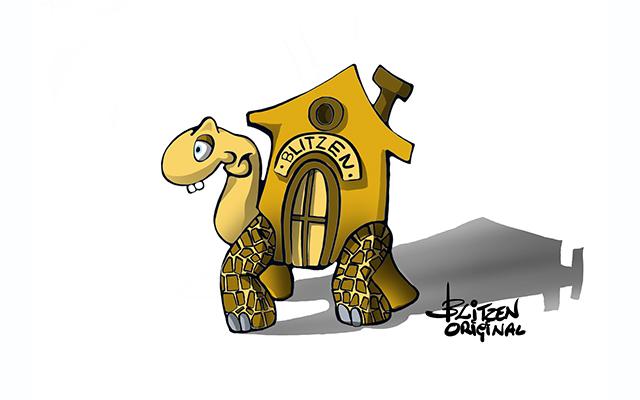 Illustrazione raffigurante una tartaruga - Blitzen